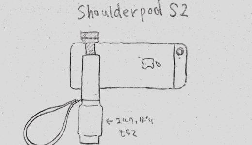プロフェッショナル用スマートフォンハンドルグリップ「Shoulderpod S2」