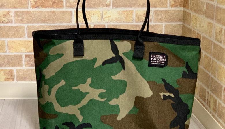 [通勤用バッグ]シンプルなトートバッグ FREDRIK PACKERS