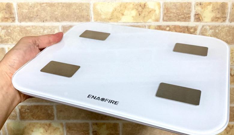[レビュー]スマホで管理できるおすすめのEnacFire体重計